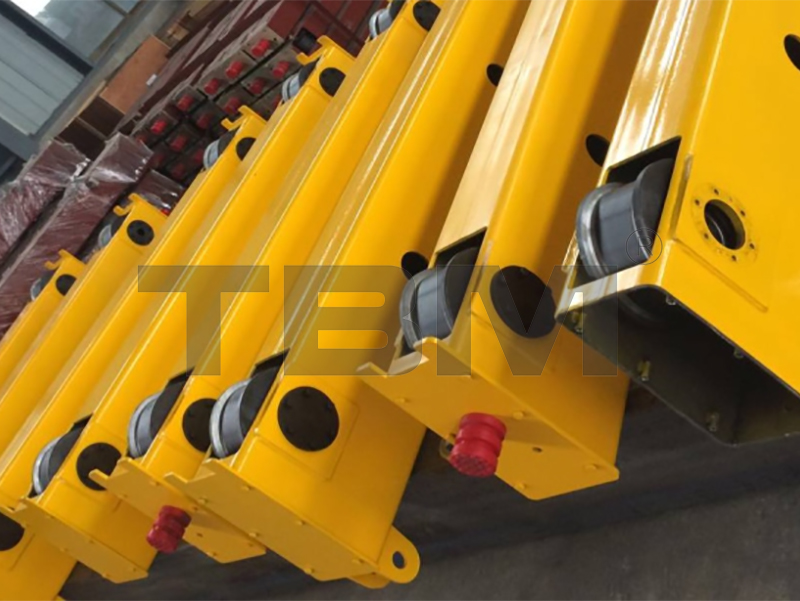 End Carriages For Double Girder cranes/Festoon system