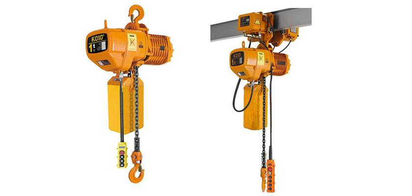 The intelligent electric chain hoist does not need to be operated by two hands, it can be done with one hand, and has a weighing function